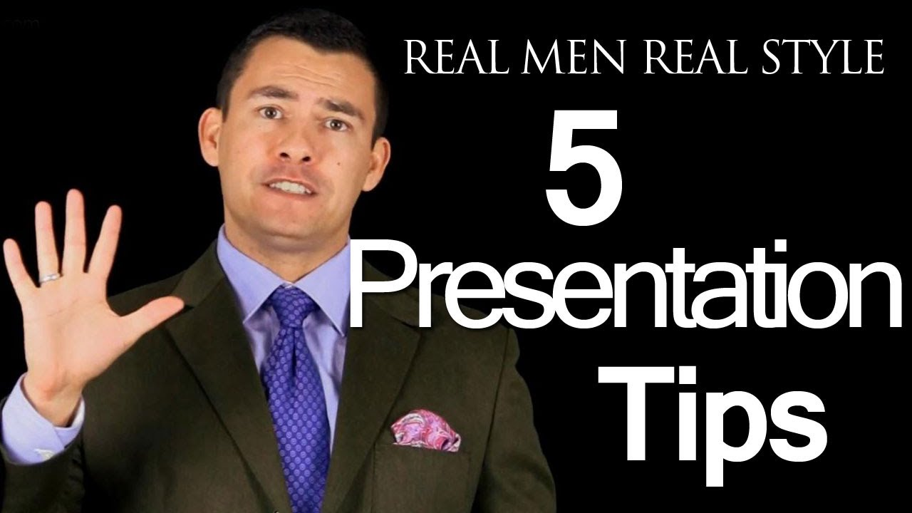 5 Tips For Delivering A Great Presentation - How To Speak In Front Of  Others - Public Speaking Tips