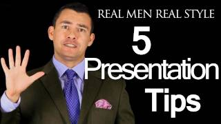 5 Tips For Delivering A Great Presentation - How To Speak In Front Of Others - Public Speaking Tips thumbnail