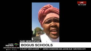 SABC News Exposé | Bogus schools