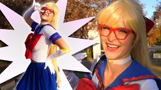 Sailor Venus Dreamhack Cosplay Vlog - Behind the Scenes Judging the Contest! | KittyPlays