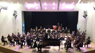 Jongdo An plays J. Brahms Piano Concerto No.2 Op.83 (4/4)