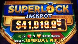 ★BIG ! First Attempt ! SUPERLOCK JACKPOT☆EUREKA/BATS/NIGHTLIFE 3 Slot Live Play & SuperLock Bonus ☆栗