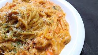 게살 로제 파스타 만들기 : 토마토 소스와 생크림의 맛있는 만남 | Crab meat Rose Pasta