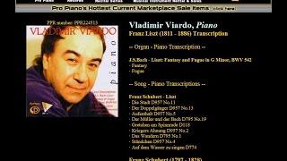 Download 6. Der Müller und der Bach D795 No.19, Schubert - Liszt, Song-Piano Transcrb, Vladimir Viardo, Piano MP3 song and Music Video