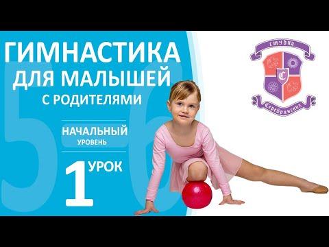Онлайн тренировка Гимнастика для малышей с родителями 5-6 лет, начальный уровень, 1 урок