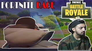 FORTNITE RAGE! - THE MOST UNLUCKY FORTNITE PLAYER