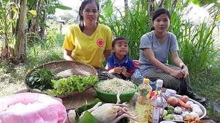 Asian food, Awesome Cooking chicken W/ Vegetable Recipe - Cook chicken Recipes -Village Food Factory