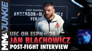 UFC on ESPN+ 25: Jan Blachowicz full post-fight interview