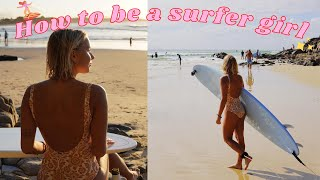 HOW TO BECOME A SURFER GIRL 2021! + Skin Care Routine