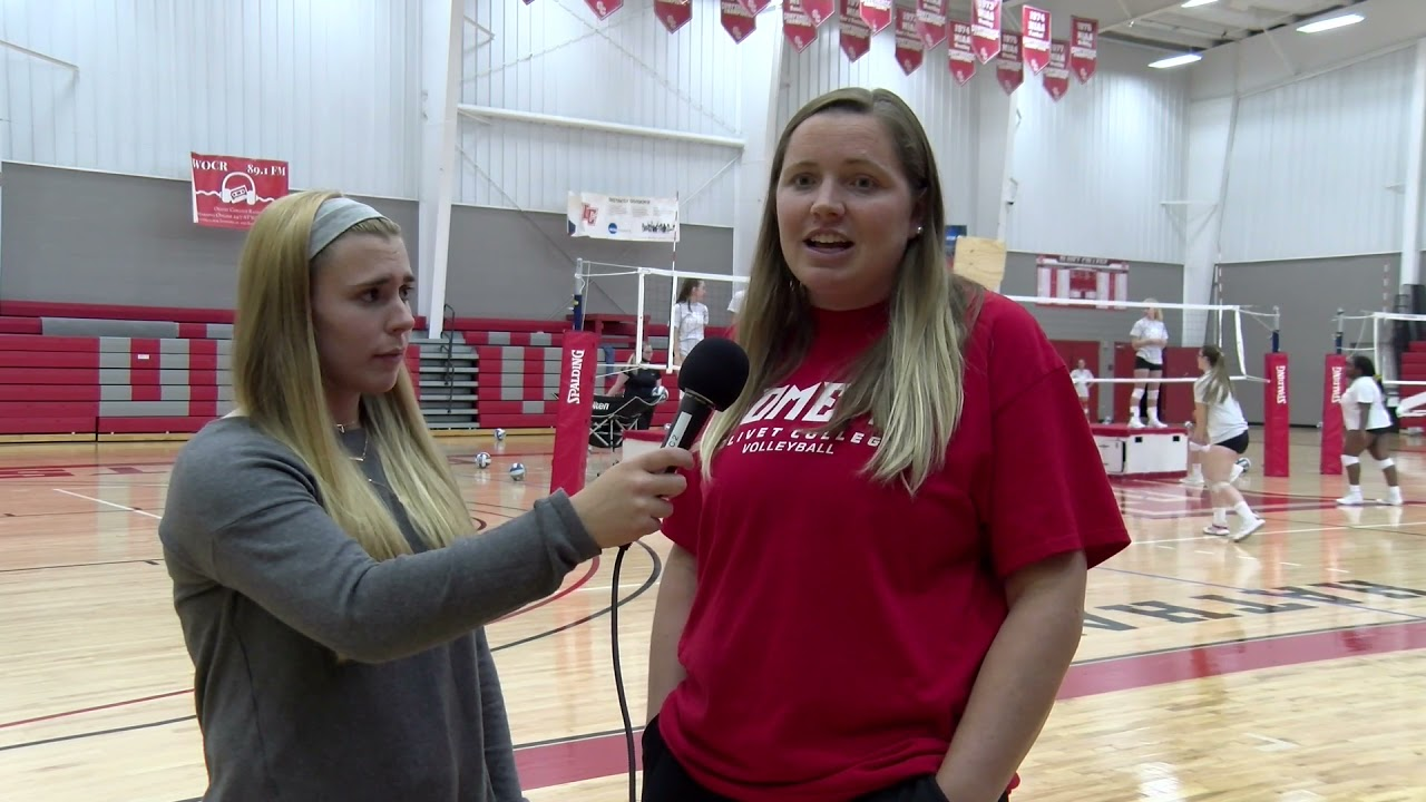 Olivet College Volleyball Interview 2021-2022