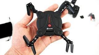 Cepte Taşınabilen Kameralı Drone: Eachine E55 FPV Mini