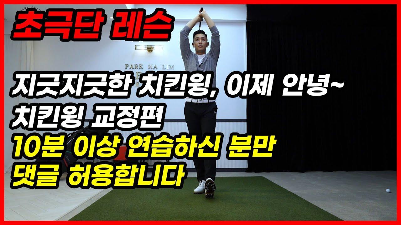 [골프]지긋지긋한 치킨윙 한방에 이 연습법으로 한방에 해결해 봅시다.