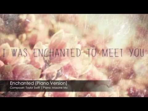 Taylor Swift - Enchanted (Piano Cover by Massine Mo)