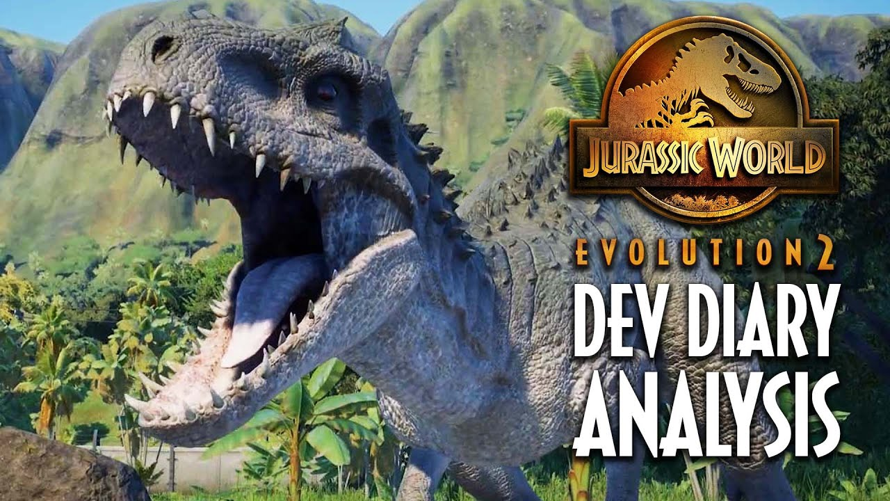 First look at CHAOS THEORY MODE, Indominus Rex & Classic JP   Jurassic World Evolution 2 news