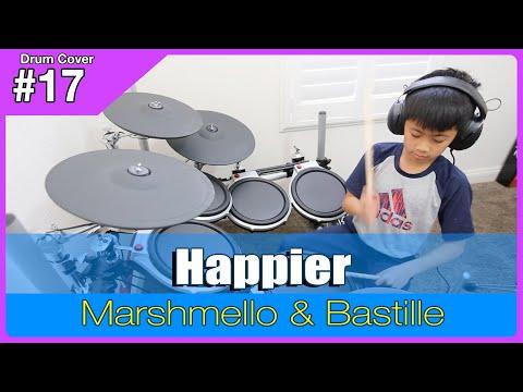 Happier - Marshmello & Bastille - Drum Cover