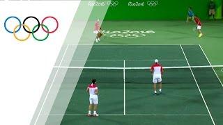 Spanish pair win Men's Tennis Doubles gold