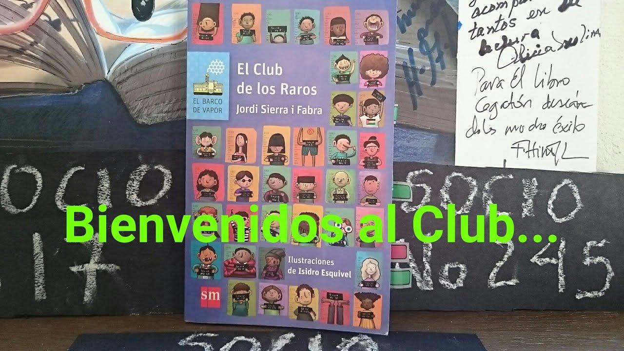 Libro Para Niños: EL CLUB DE LOS RAROS