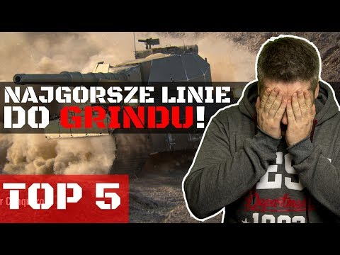 NAJGORSZE LINIE DO GRINDU W WORLD OF TANKS..! thumbnail