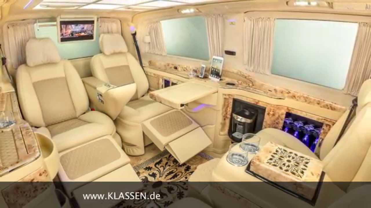 Klassen Car Design Technology Viano Vip Business Luxus Van
