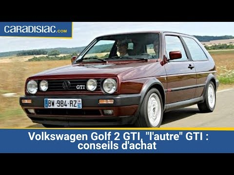 volkswagen golf 2 gti l 39 autre gti conseils d 39 achat youtube. Black Bedroom Furniture Sets. Home Design Ideas