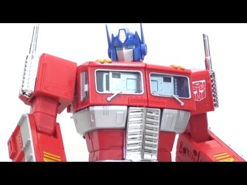Video Review of the Transformers TRU Exclusive: Masterpiece Optimus Prime