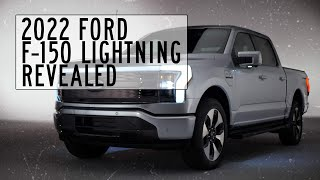 homepage tile video photo for 2022 Ford F-150 Lightning Electric Pickup Truck Revealed