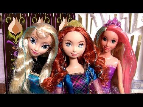 Princess Merida Colorful Curls