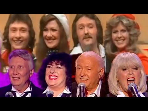 Brotherhood of Man in their 20s & 60s AT THE SAME TIME!  Save Your Kisses for Me 19762015