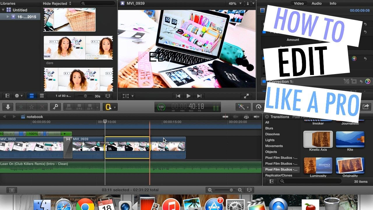 How I Edit My Videos: Tips & Tricks To Edit Like A Pro! ™�