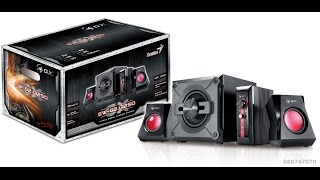 Altavoces Genius SW G2,1 1250 GX Unboxing + Review