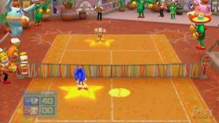 SEGA Superstars Tennis Nintendo Wii Gameplay - Samba de