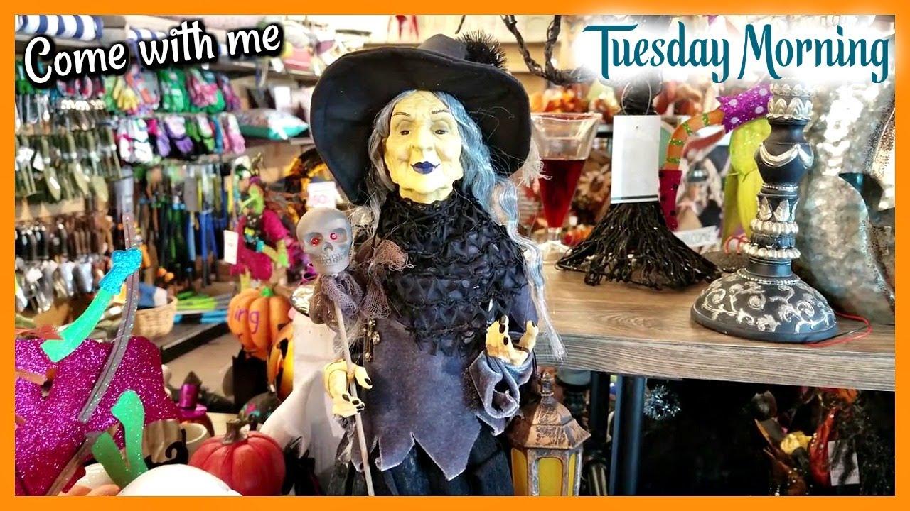 Tuesday Morning Halloween 2020 Tuesday Morning VIRTUAL HALLOWEEN DECOR WALK THROUGH * from 2018