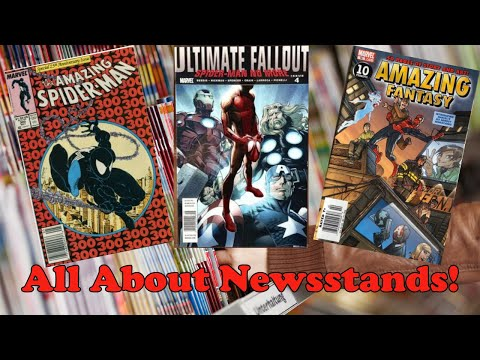 Newsstand Variant Comics: Everything you need to know!