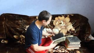 Стариные церковные книги царской России. Видеообзор(1-я книга называется