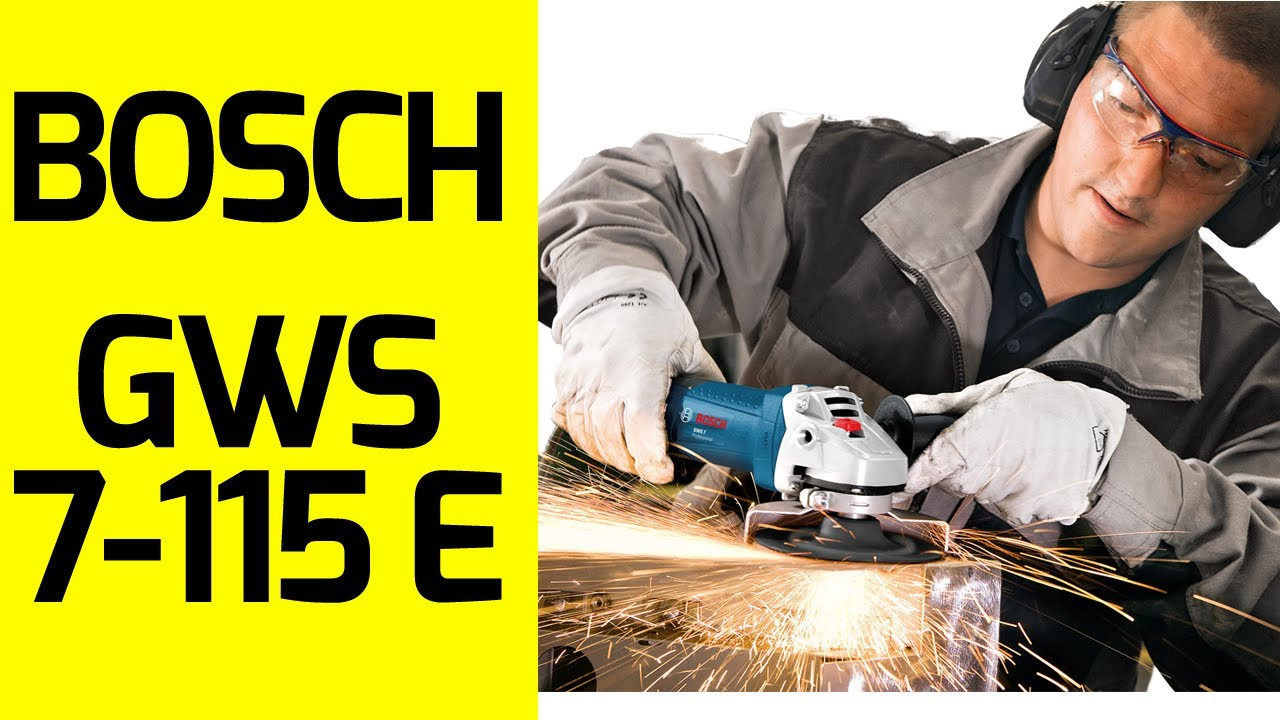 bosch gws 7 115 e devir ayarl avu ta lama youtube. Black Bedroom Furniture Sets. Home Design Ideas
