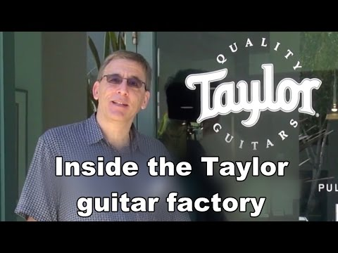 Inside the Taylor Guitar Factory
