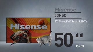 Hisense 50H5C H5 series full HD smart TV // Full Specs Review  #Hisense