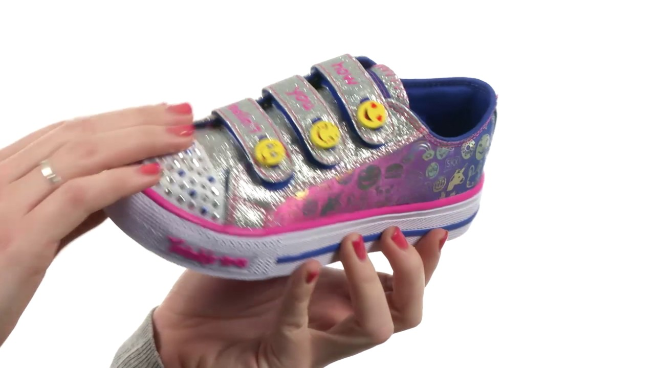 skechers twinkle toes on off switch
