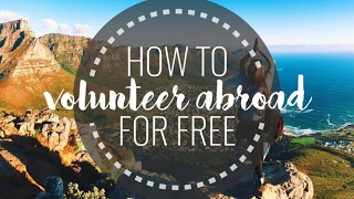 How to volunteer abroad for free volunteer  volunteer experience