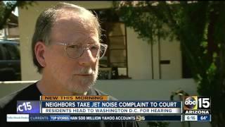 Phoenix residents take jet noise complaint to DC