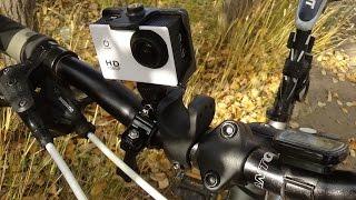 камера SJ4000 на велосипеде(проверка того, как SJ 4000 справляется с функцией велосипедного видеорегистратора. Ссылка на обзор камеры:..., 2014-12-09T04:27:14.000Z)