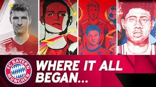Video This is where the FC Bayern stars learned to play | adidas X FC Bayern download MP3, 3GP, MP4, WEBM, AVI, FLV Juli 2018