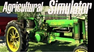 Agricultural Simulator Historical Farming 2012 - Review - Gameplay PC HD