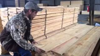 Go Rustic With Rough Cut Pine