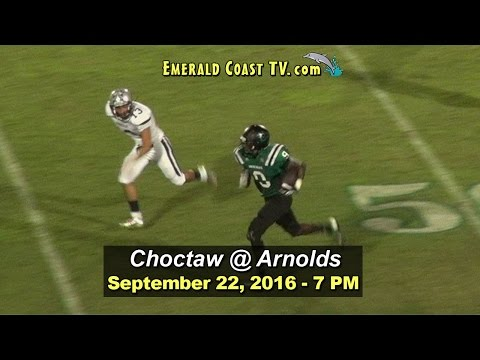 Choctawhatchee Indians vs Arnolds Marlins - September 22, 2016