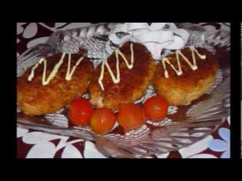 Рыбные котлеты из минтая - рецепт с фото