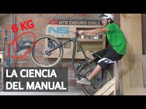 Tutorial 13 - La ciencia del manual levantar la bicicleta con el manual machine