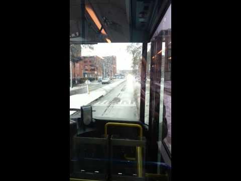GVB Amsterdam Bus 21 vanaf Van Hallstraat naar Geuzenveld