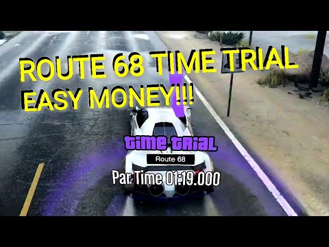 ROUTE 68 TIME TRIAL IN DEVESTE EIGHT - Pointless GTA Gameplay