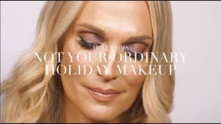 Not Your Ordinary Holiday Makeup Tutorial | Molly Sims
